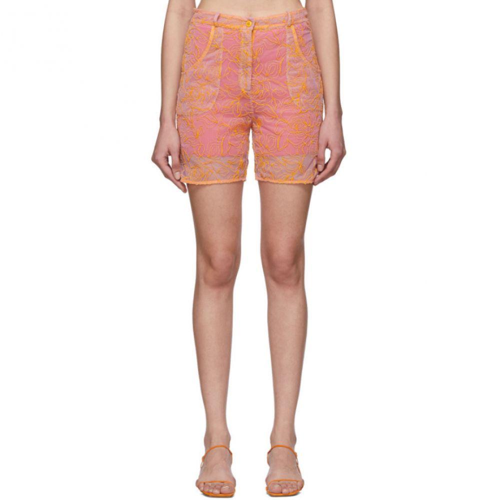 ジャックムス Jacquemus レディース ショートパンツ ボトムス・パンツ【Pink & Orange 'Le Short Lavandou' Shorts】Pink/Orange
