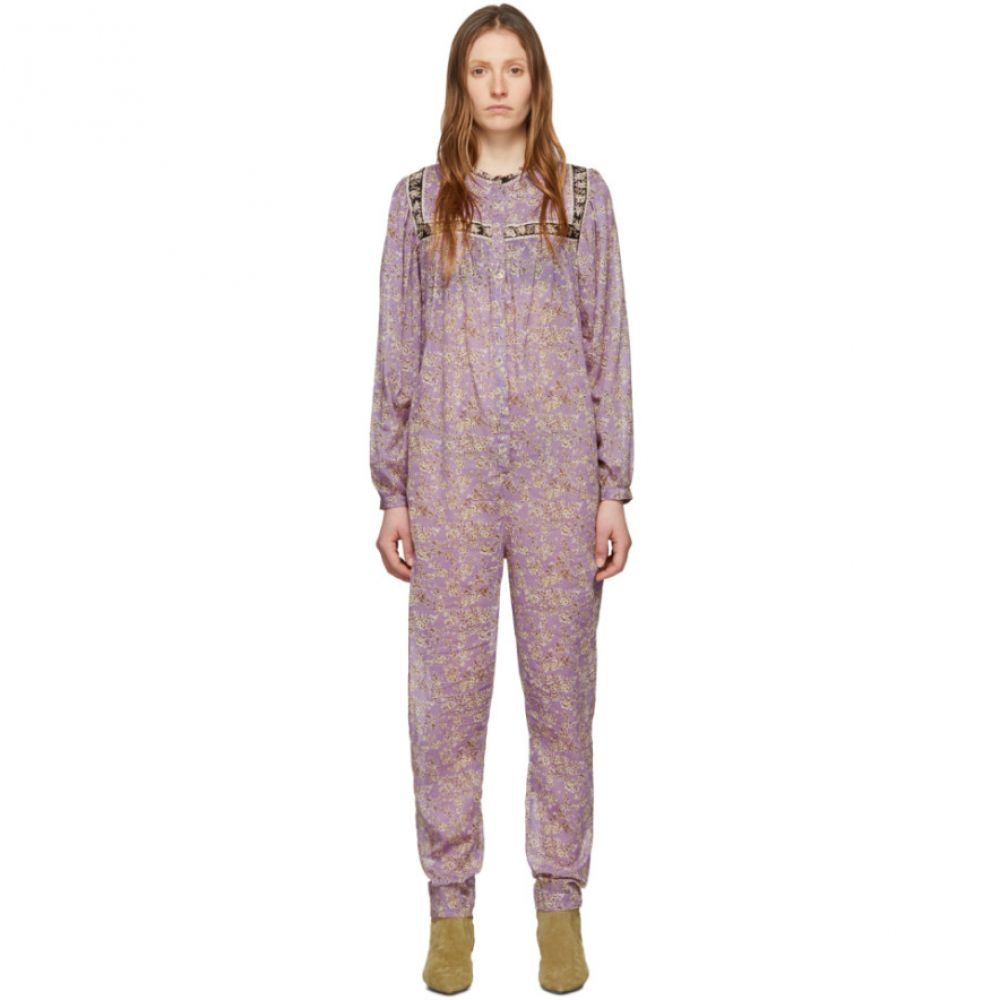 イザベル マラン Isabel Marant Etoile レディース オールインワン ジャンプスーツ ワンピース・ドレス【Purple Vasco Jumpsuit】Lilac