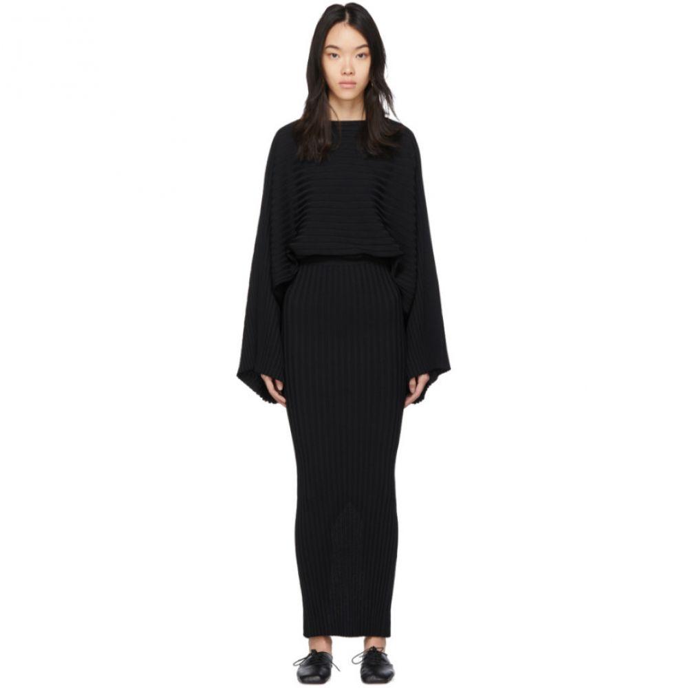 トーテム Toteme レディース ワンピース ワンピース・ドレス【Black Maristella Dress】Black