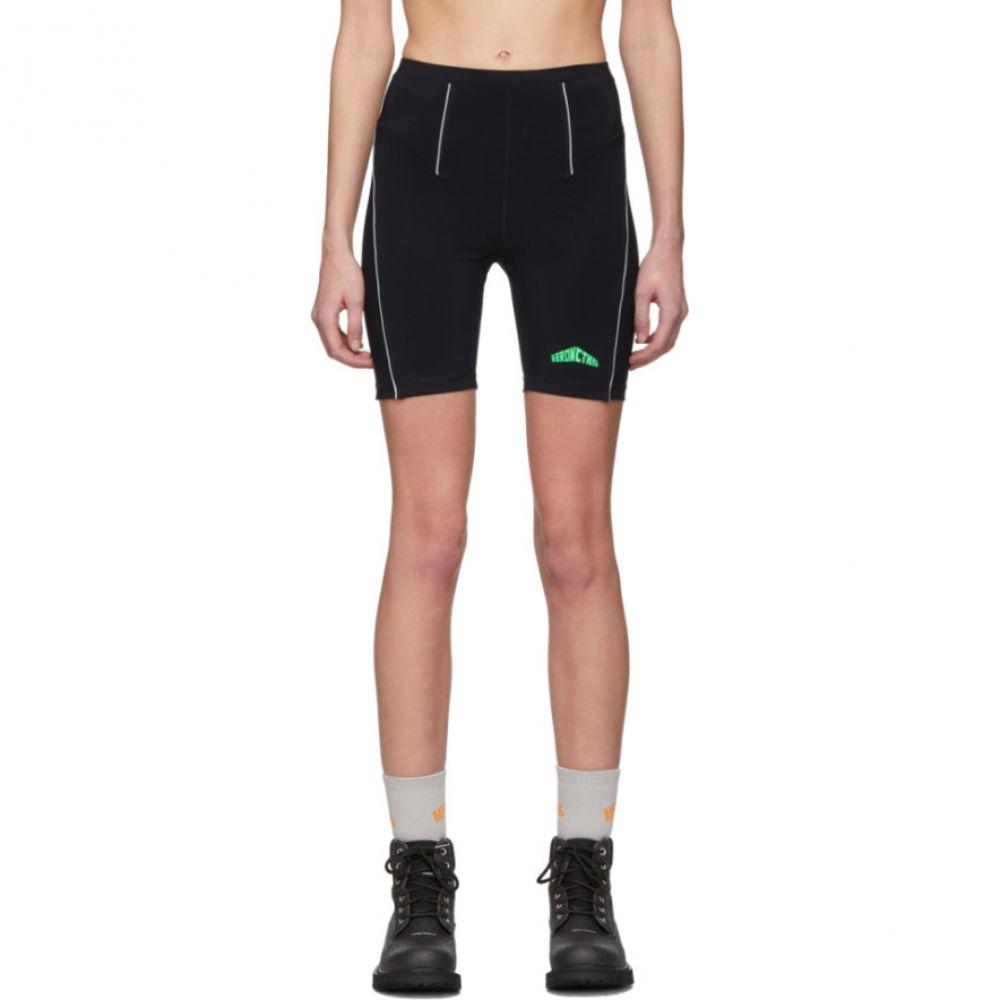 ヘロン プレストン Heron Preston レディース ショートパンツ ボトムス・パンツ【Black Active Biker Shorts】Black/Green