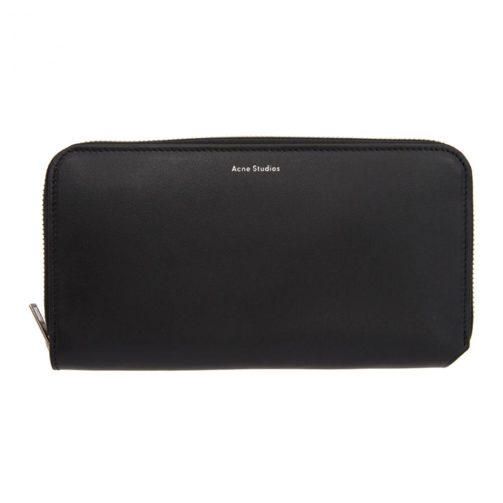 アクネ ストゥディオズ Acne Studios レディース 財布 【Black Fluorite Continental Wallet】Black