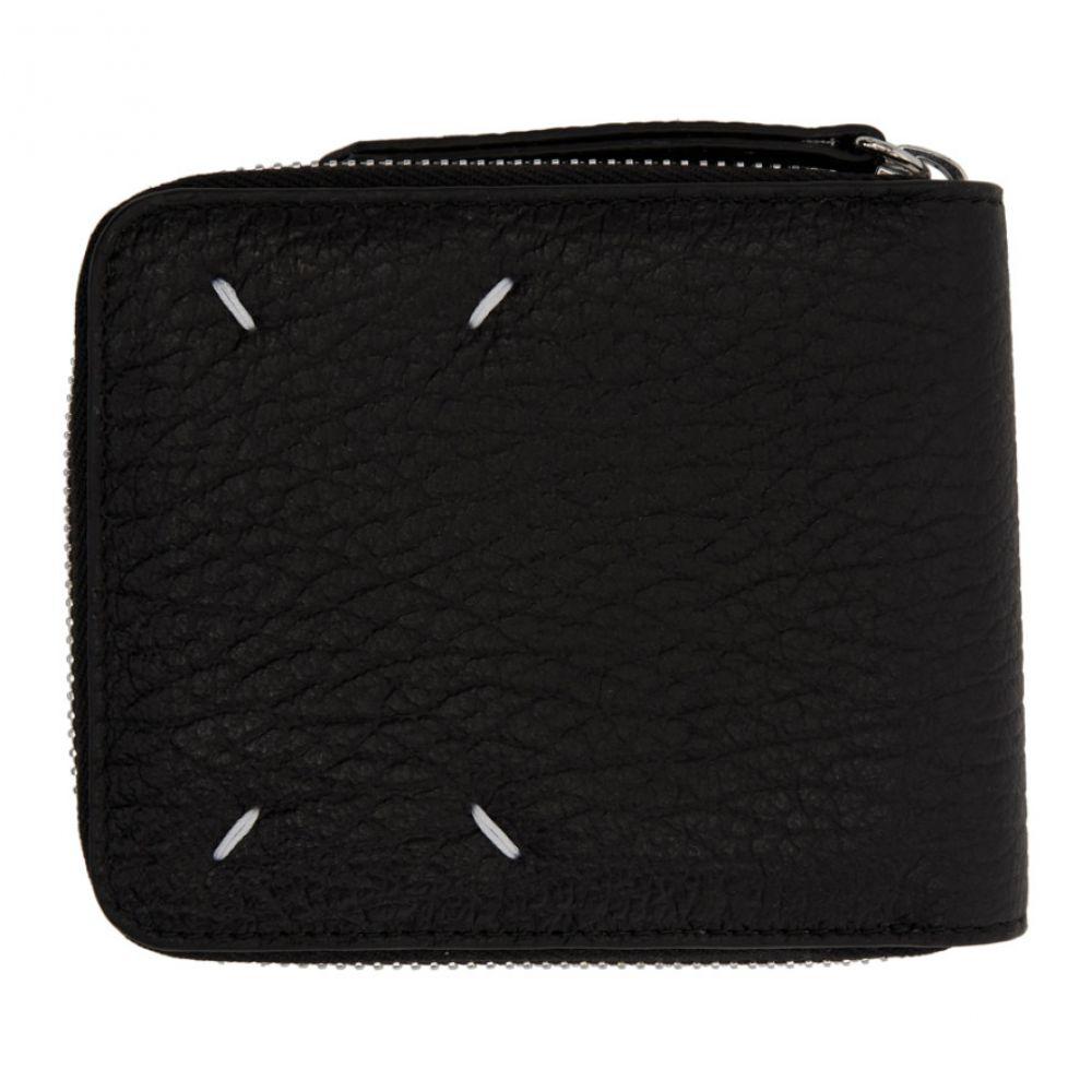 メゾン マルジェラ Maison Margiela レディース 財布 【Black Square Zip Wallet】Black