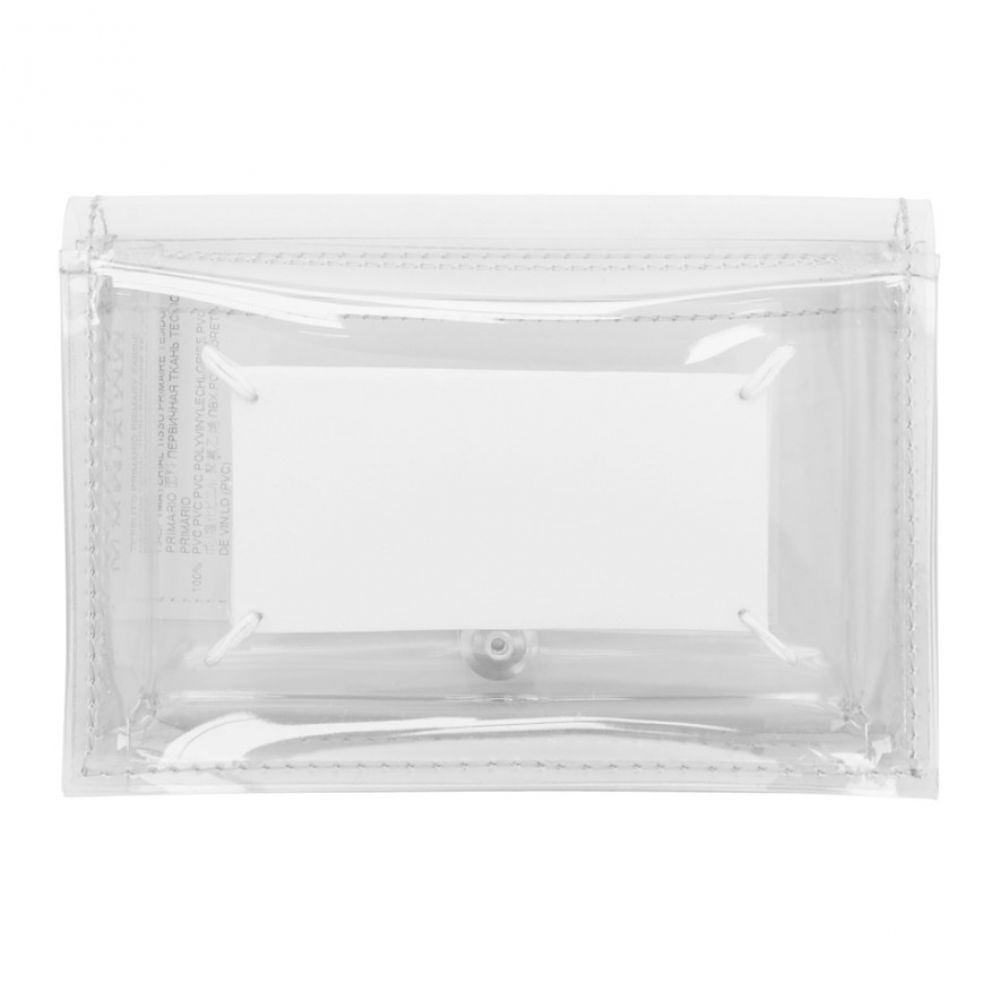 メゾン マルジェラ Maison Margiela レディース 財布 【SSENSE Exclusive Transparent PVC Wallet】Transparent