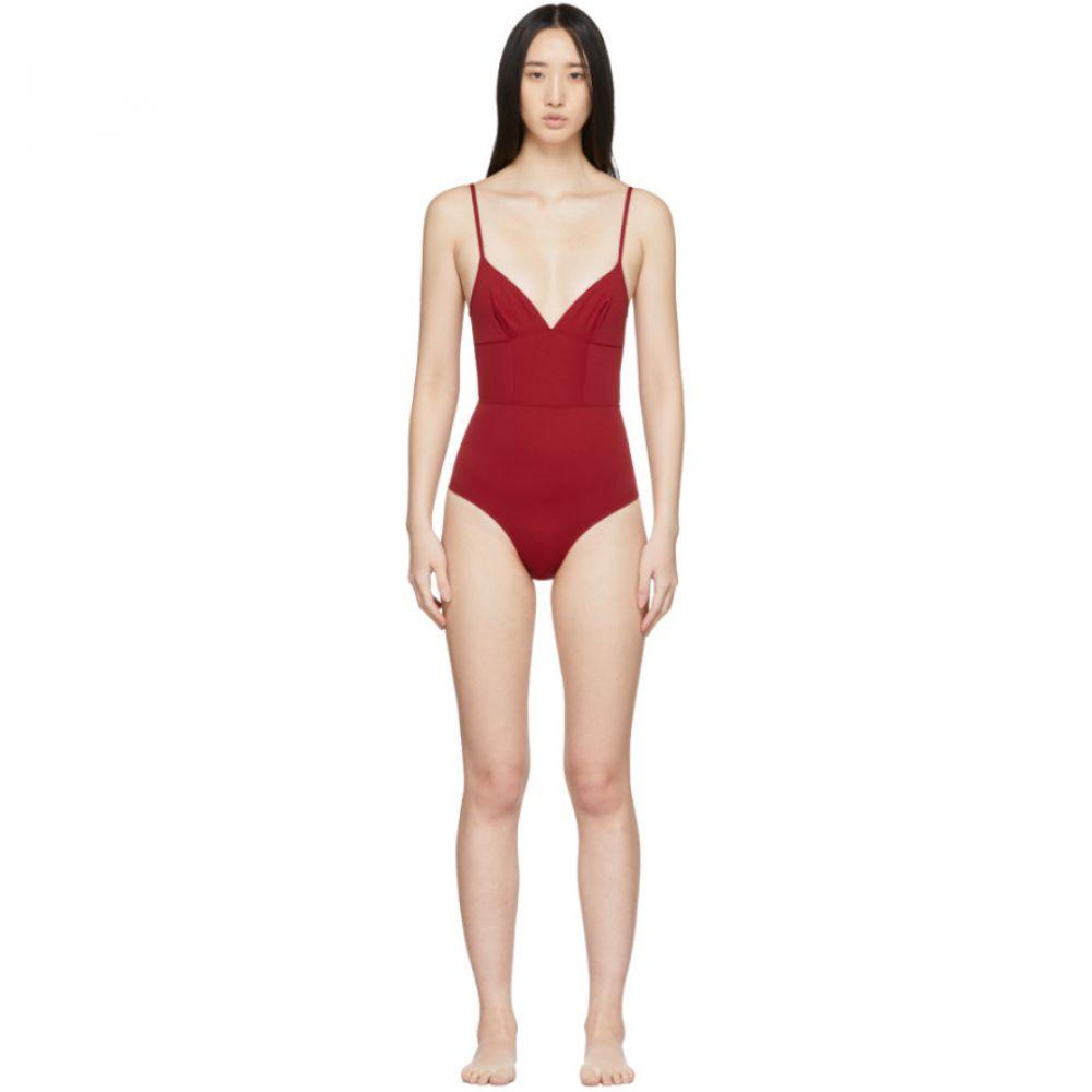 エルネスト レオティ Ernest Leoty レディース ワンピース 水着・ビーチウェア【Red Philippine One-Piece Swimsuit】Scarlet