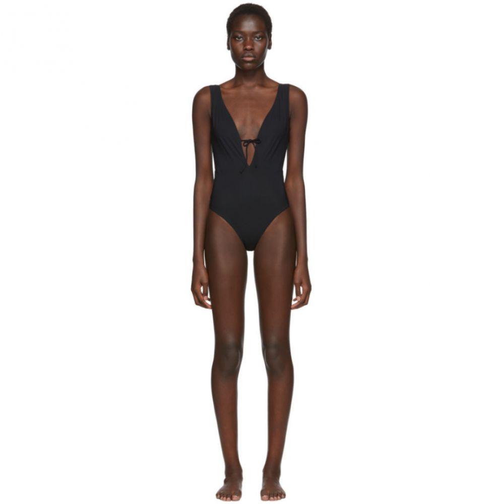 ルディ ガーンライヒ Rudi Gernreich レディース ワンピース 水着・ビーチウェア【Black Plunge One-Piece Swimsuit】Black
