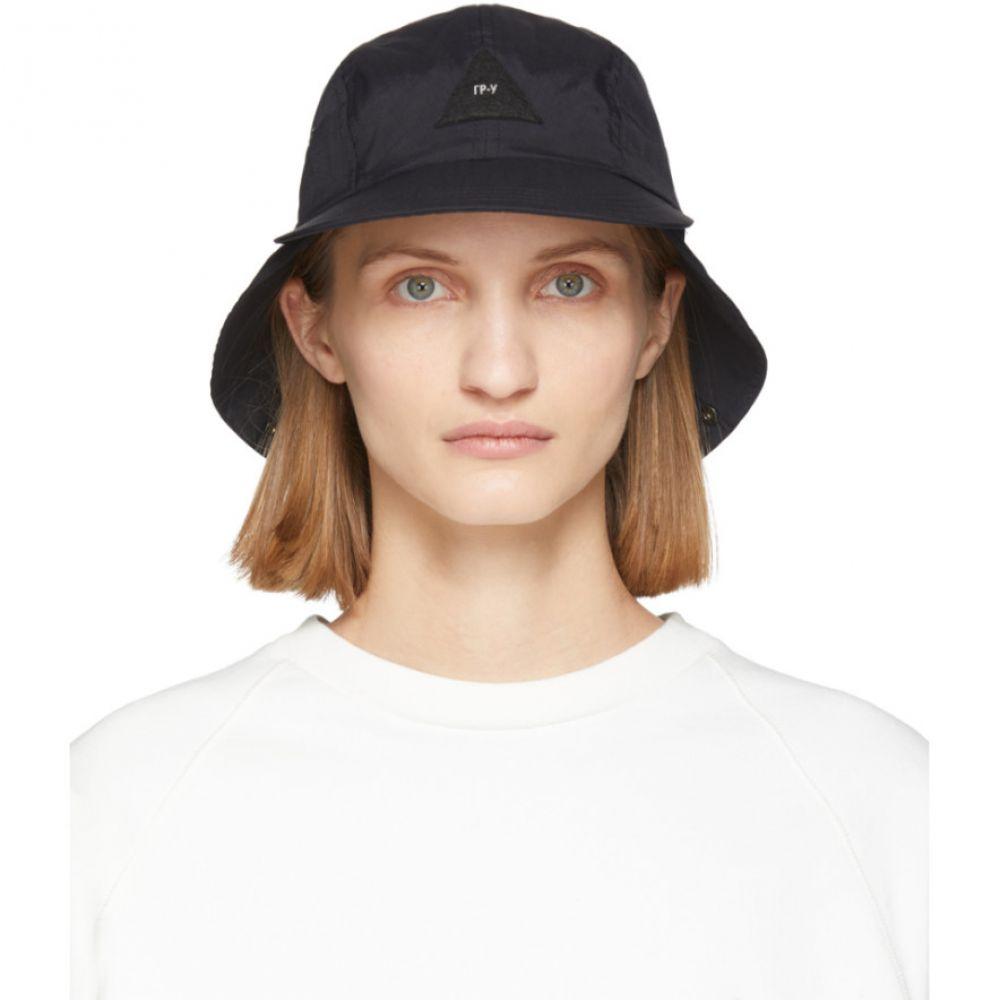 ジーアール ユニフォーマ GR-Uniforma レディース キャップ 帽子【Black Triangle Logo Cap】Black