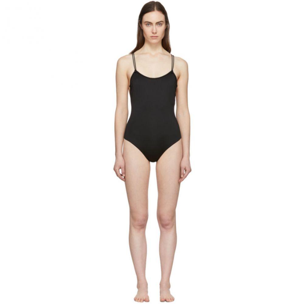 ラ ペルラ La Perla レディース ワンピース 水着・ビーチウェア【Black Simple One-Piece Swimsuit】Black