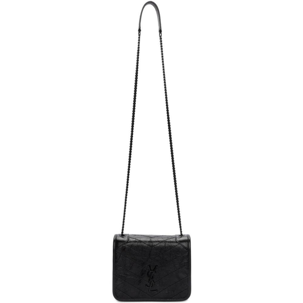 イヴ サンローラン Saint Laurent レディース 財布 【Black Niki Chain Wallet Bag】Black
