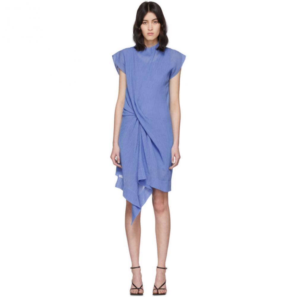 ニナ リッチ Nina Ricci レディース ワンピース ワンピース・ドレス【Blue Draped Dress】Blue