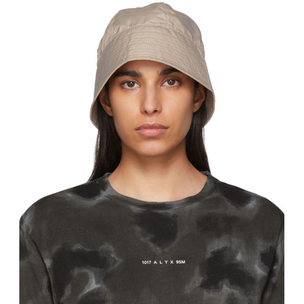 アリクス 1017 ALYX 9SM レディース ハット バケットハット 帽子【Beige Browns Edition Buckle Bucket Hat】Tan