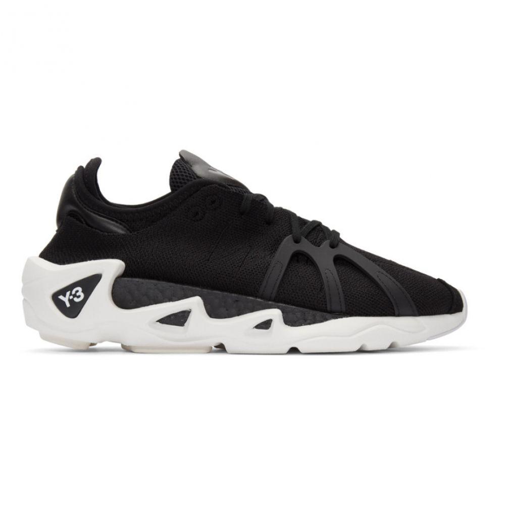 ワイスリー Y-3 メンズ スニーカー シューズ・靴【Black FYW S-97 Sneakers】Black/White/Black