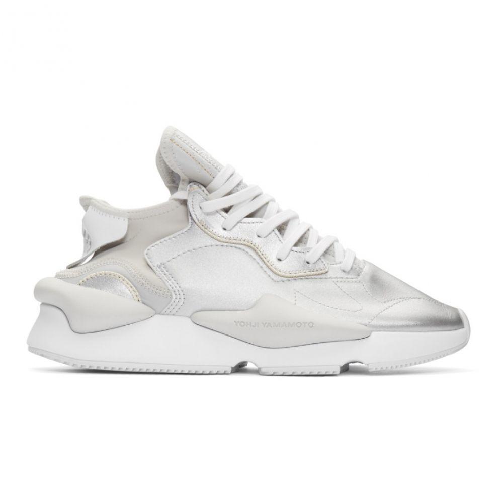 ワイスリー Y-3 メンズ スニーカー シューズ・靴【Silver Kaiwa Sneakers】Silver metallic/White/Silver metallic