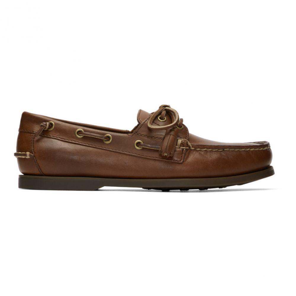 ラルフ ローレン Polo Ralph Lauren メンズ デッキシューズ シューズ・靴【Tan Merton Boat Shoes】Polo tan