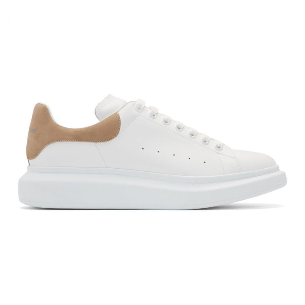 アレキサンダー マックイーン Alexander McQueen メンズ スニーカー シューズ・靴【White & Beige Oversized Sneakers】White/Beige