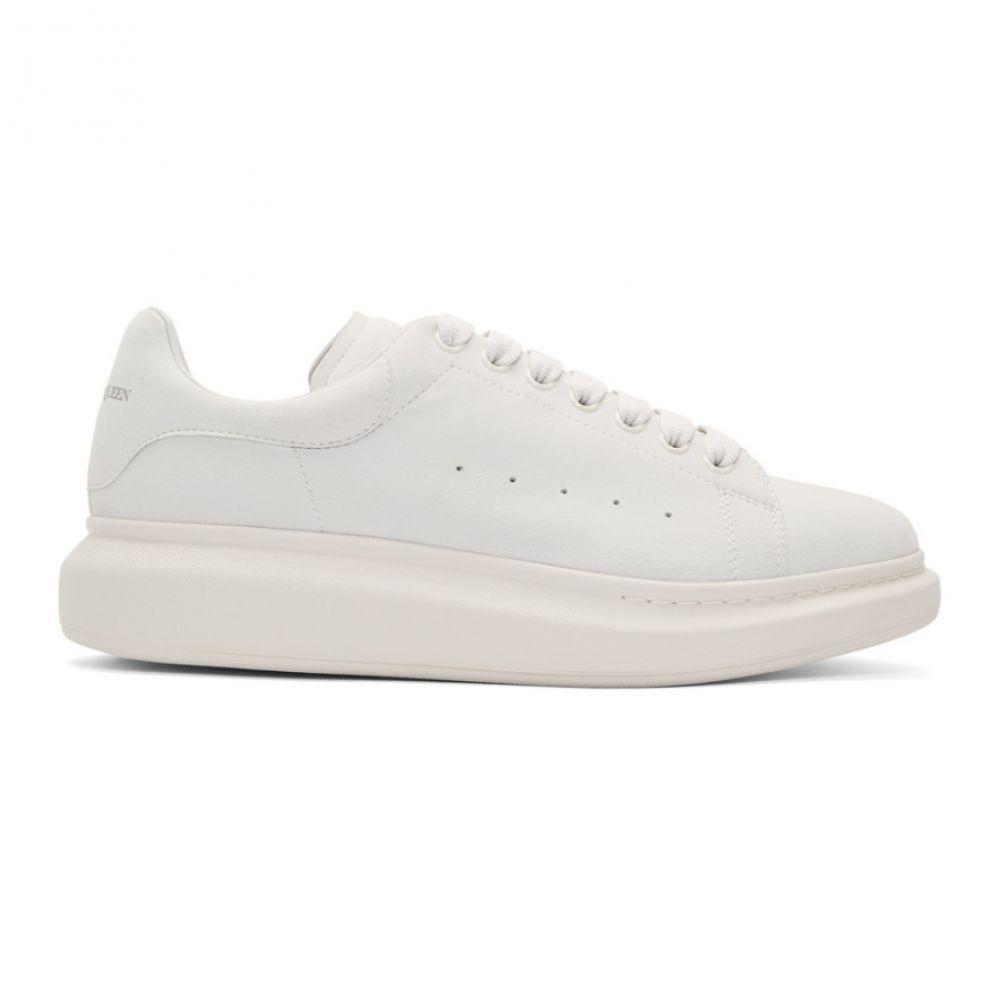 アレキサンダー マックイーン Alexander McQueen メンズ スニーカー シューズ・靴【Off-White Daim Velour Oversized Sneakers】Ivory