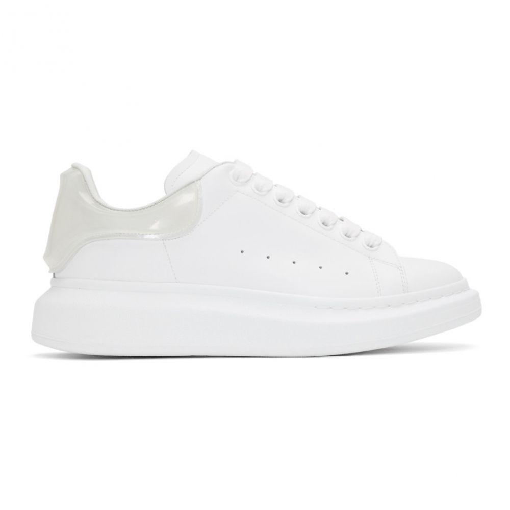 アレキサンダー マックイーン Alexander McQueen メンズ スニーカー シューズ・靴【White & Transparent Oversized Sneakers】White/Transparent