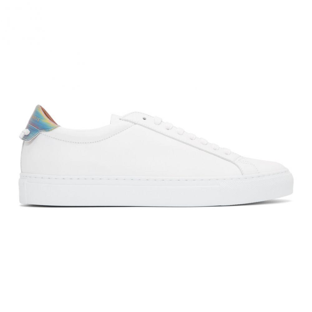 ジバンシー Givenchy メンズ スニーカー シューズ・靴【White Urban Street Hologram Sneakers】White