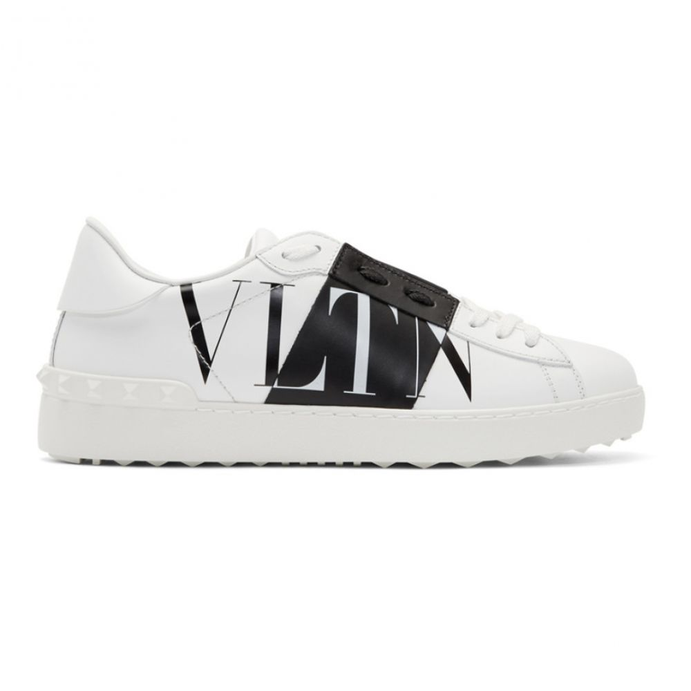 ヴァレンティノ Valentino メンズ スニーカー ローカット シューズ・靴【White Garavani VLTN Star Low Top Sneakers】White