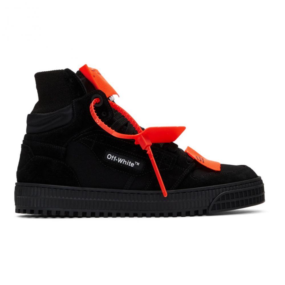オフホワイト Off-White メンズ スニーカー シューズ・靴【Black Off-Court 3.0 Sneakers】Black