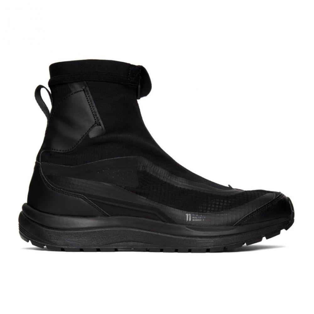 ボリス ビジャン サベリ 11 by Boris Bidjan Saberi メンズ スニーカー シューズ・靴【Black Reflective Bamba 2 Sneakers】Black