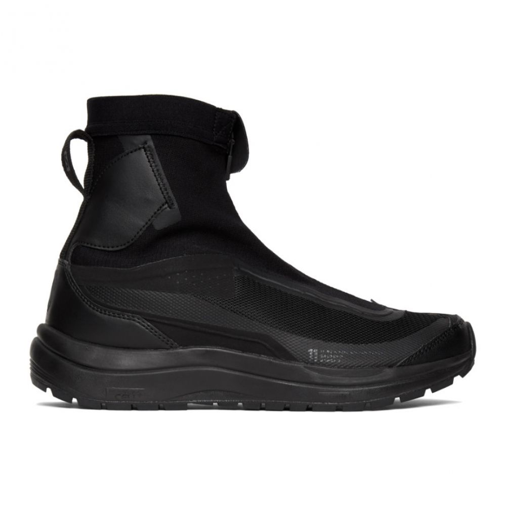 ボリス ビジャン サベリ 11 by Boris Bidjan Saberi メンズ スニーカー シューズ・靴【Black Salomon Edition Bamba2 High-Top Sneakers】Black