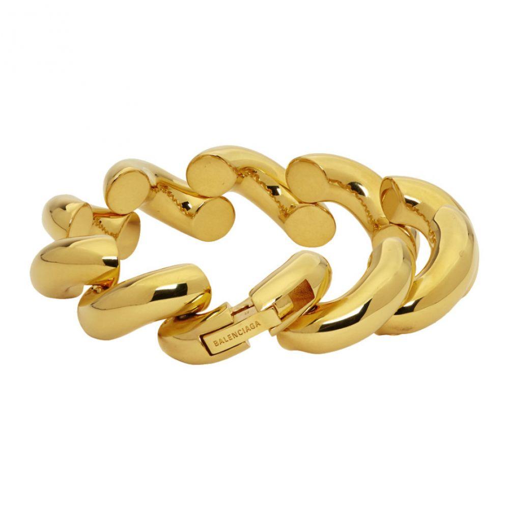 バレンシアガ Balenciaga メンズ ブレスレット ジュエリー・アクセサリー【Gold Loop Bracelet】Gold