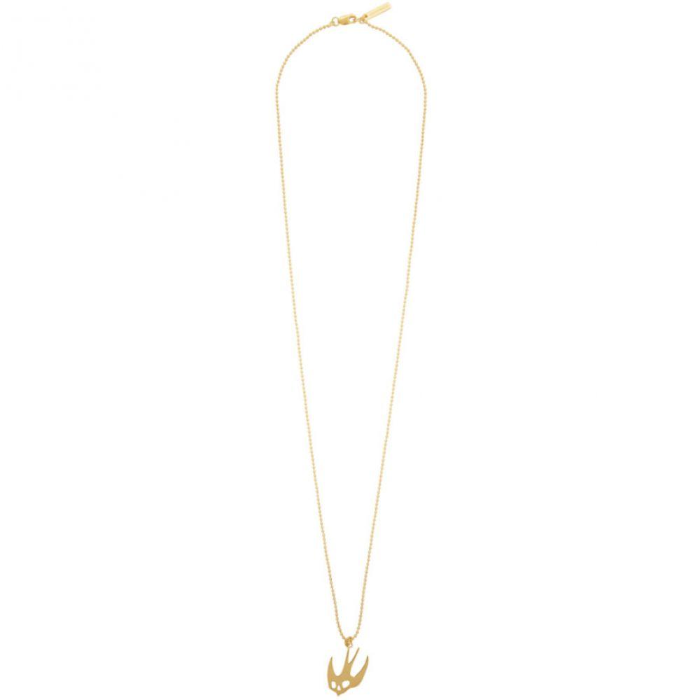 アレキサンダー マックイーン McQ Alexander McQueen メンズ ネックレス ジュエリー・アクセサリー【Gold Swallow Necklace】Gold
