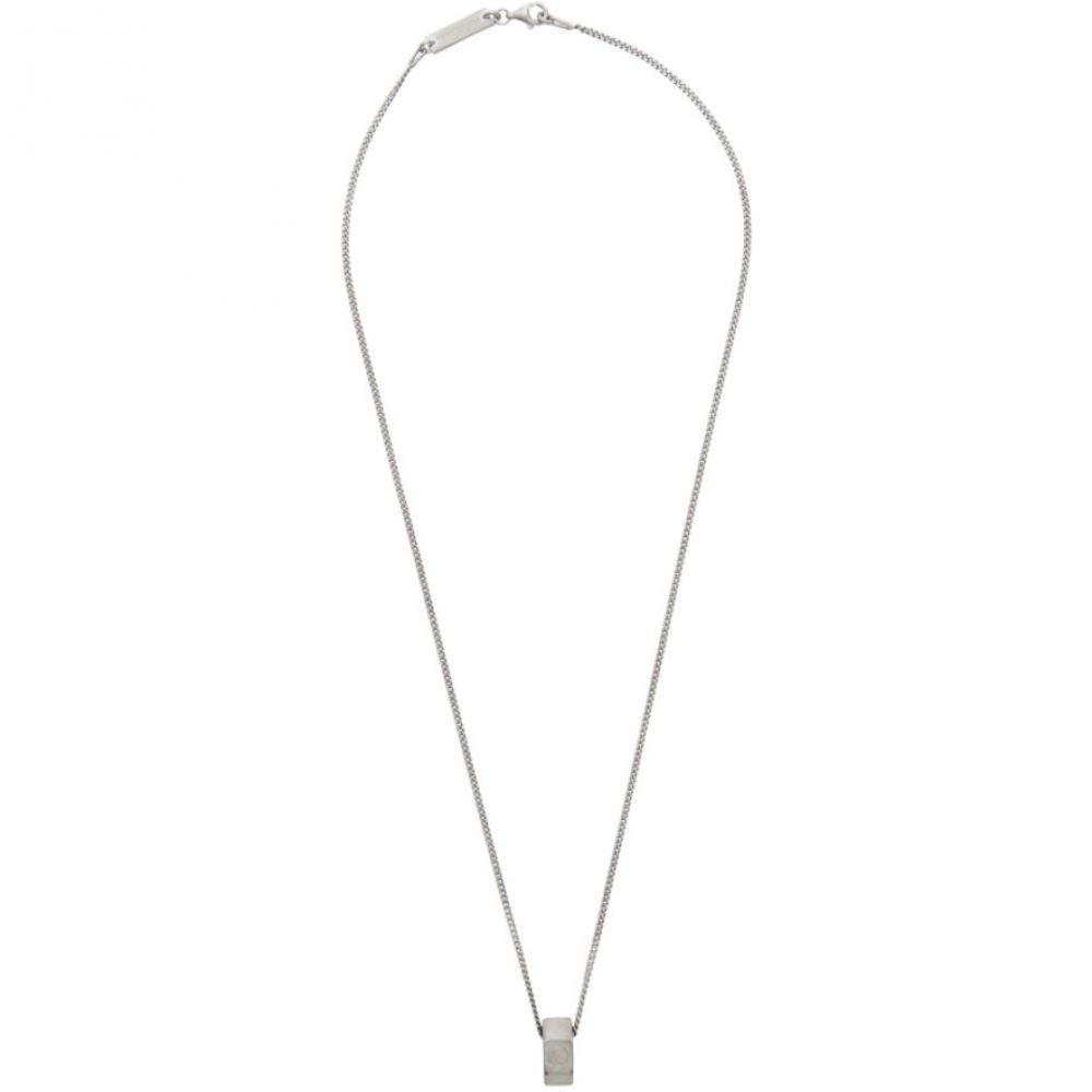 メゾン マルジェラ Maison Margiela メンズ ネックレス ジュエリー・アクセサリー【Silver Nut Necklace】Silver