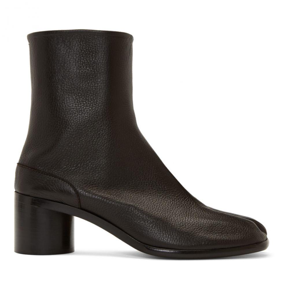 メゾン マルジェラ Maison Margiela メンズ ブーツ シューズ・靴【Brown Tabi Boots】Chocolate