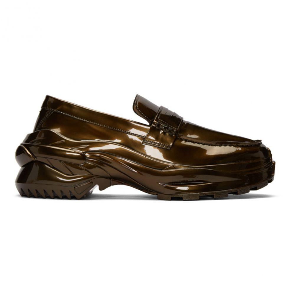 メゾン マルジェラ Maison Margiela メンズ ローファー シューズ・靴【Bronze Cross Loafers】Riace