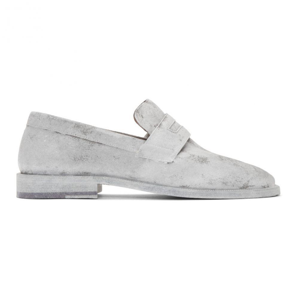 メゾン マルジェラ Maison Margiela メンズ ローファー シューズ・靴【White Tabi Advocate Loafers】White