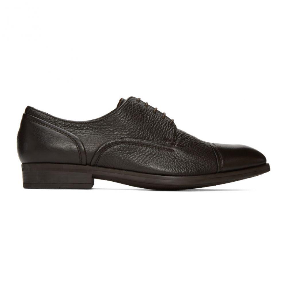 エルメネジルド ゼニア Ermenegildo Zegna メンズ 革靴・ビジネスシューズ シューズ・靴【Brown Fondante Avenue Derbys】Brown