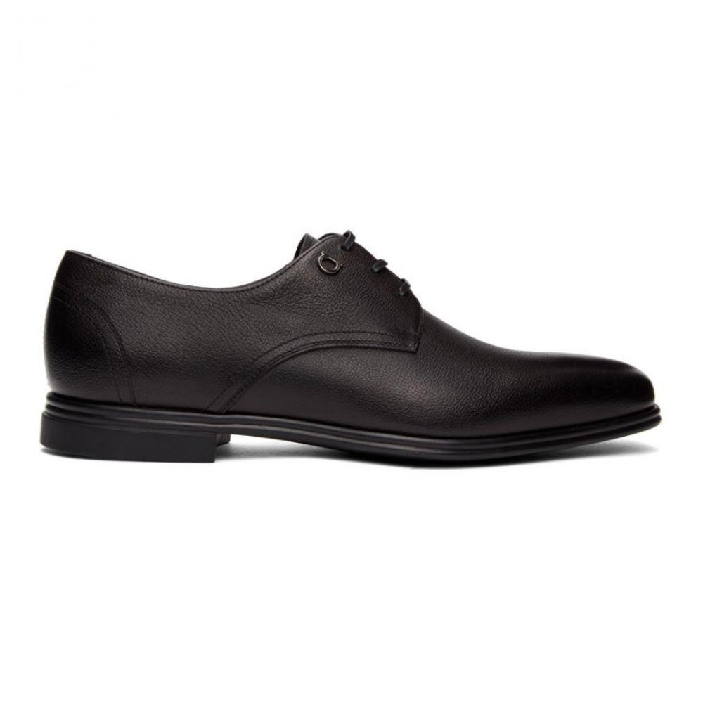 サルヴァトーレ フェラガモ Salvatore Ferragamo メンズ 革靴・ビジネスシューズ シューズ・靴【Black Spencer Derbys】Black