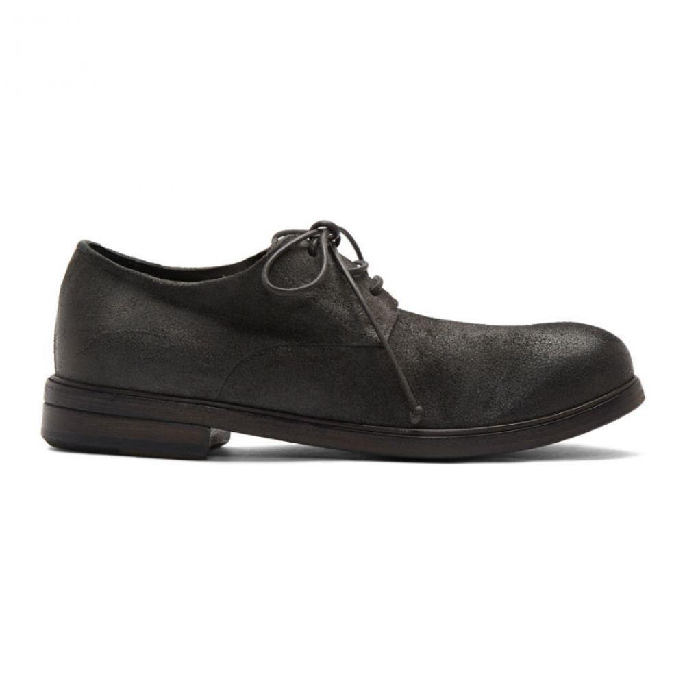 マルセル Marsell メンズ 革靴・ビジネスシューズ シューズ・靴【Grey Suede Zucca Media Derbys】Pombo