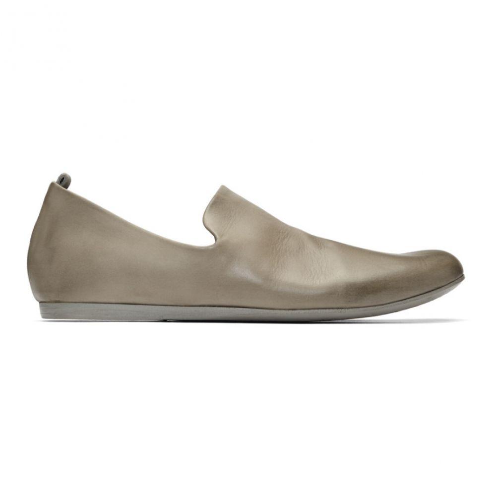 マルセル Marsell メンズ スリッパ シューズ・靴【Grey Leather Slippers】Grey