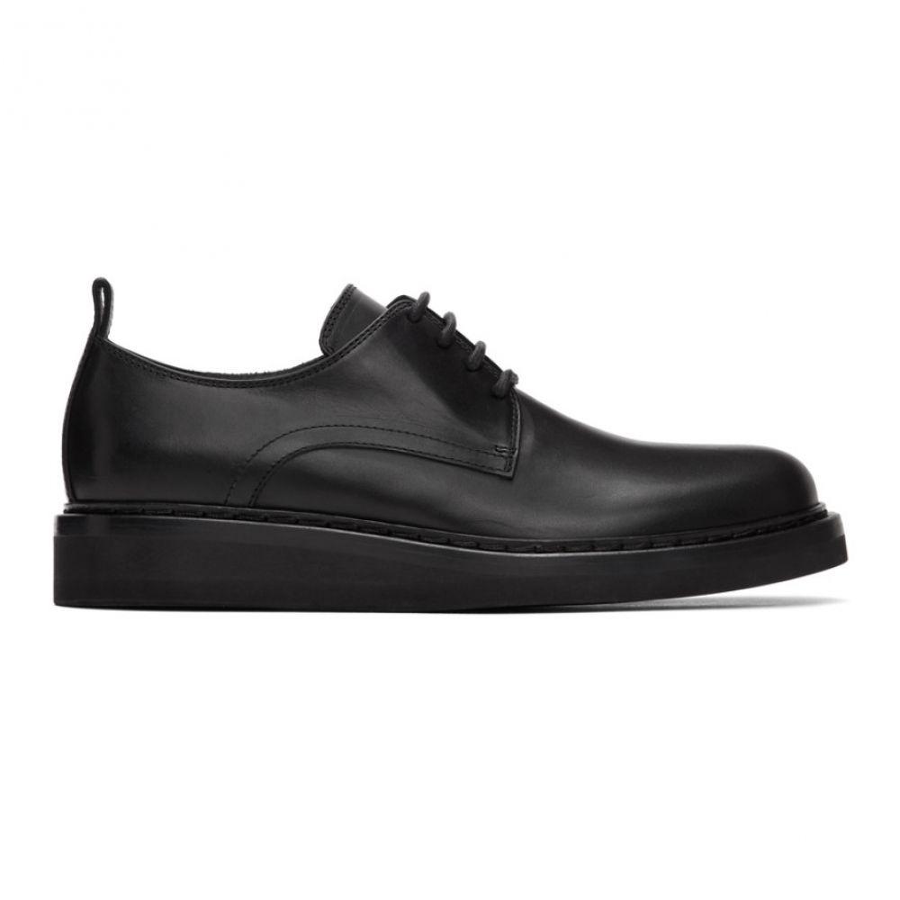 アンドゥムルメステール Ann Demeulemeester メンズ 革靴・ビジネスシューズ シューズ・靴【Black Tucson Derbys】Black