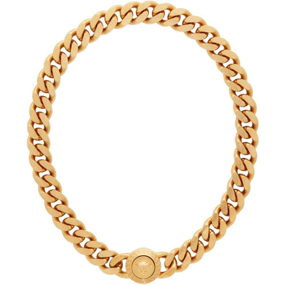 ヴェルサーチ Versace メンズ ネックレス ジュエリー・アクセサリー【Gold Tribute Necklace】Gold