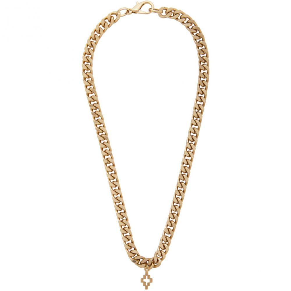 マルセロバーロン Marcelo Burlon County of Milan メンズ ネックレス ジュエリー・アクセサリー【Gold Cross Necklace】Gold