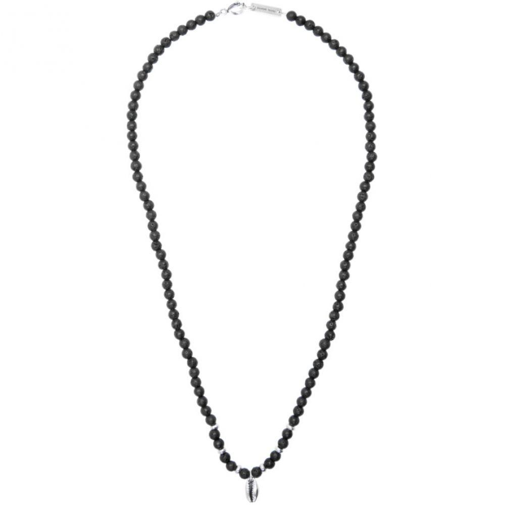 イザベル マラン Isabel Marant メンズ ネックレス ジュエリー・アクセサリー【Black Stone Necklace】Black