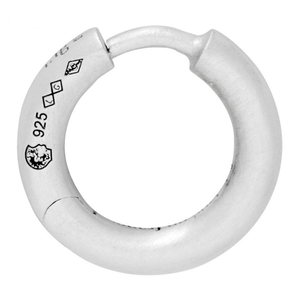 ルグラム Le Gramme メンズ イヤリング・ピアス バングル ジュエリー・アクセサリー【Silver Slick Brushed 'La 1.5 Grammes' Bangle Single Earring】Silver