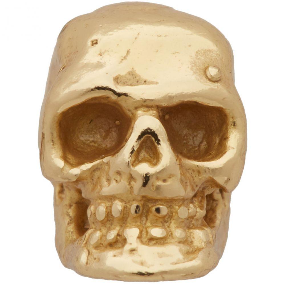 エマニュエレ ビコッキ Emanuele Bicocchi メンズ イヤリング・ピアス スタッドピアス ジュエリー・アクセサリー【Gold Single Tiny Skull Stud Earring】Gold
