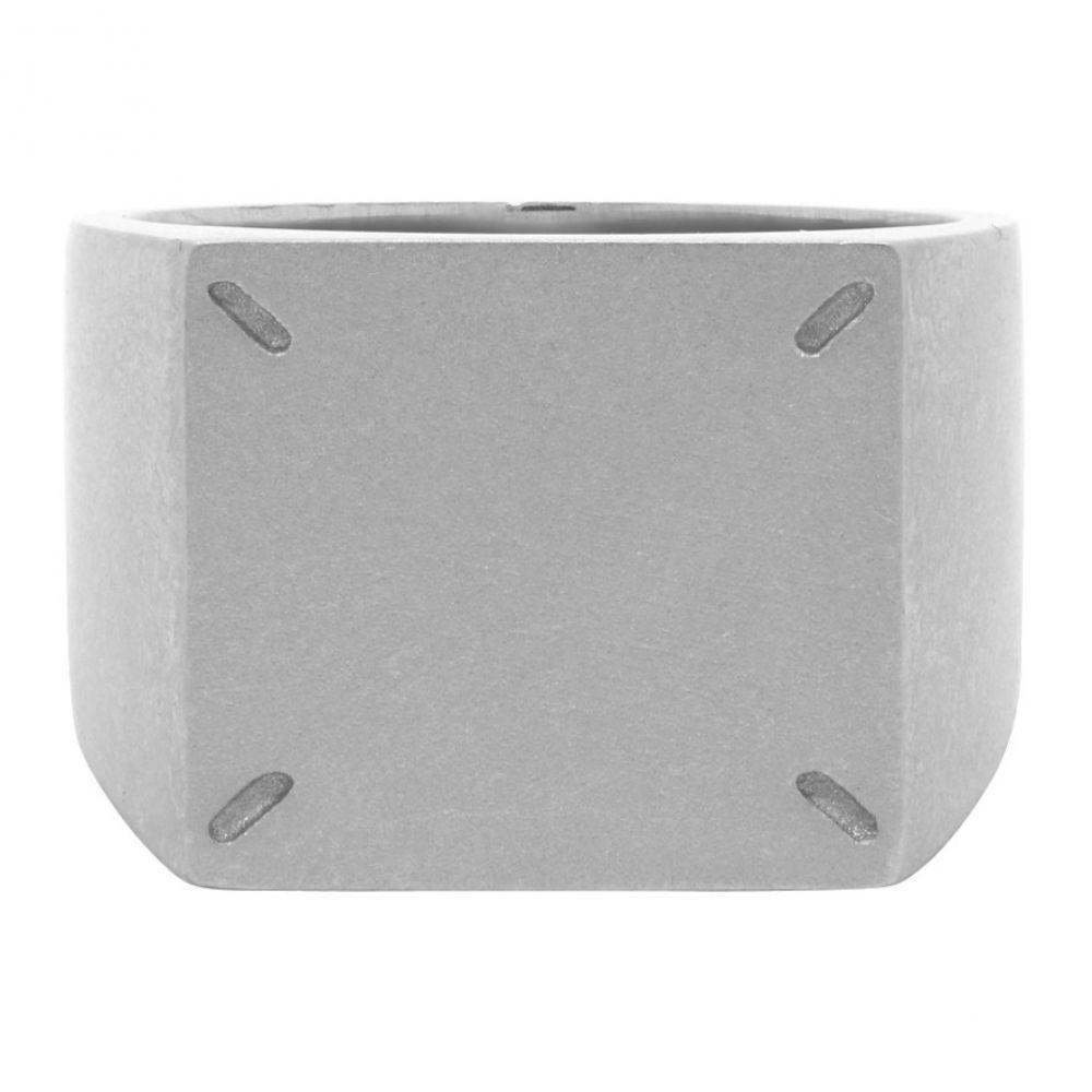 メゾン マルジェラ Maison Margiela メンズ 指輪・リング ジュエリー・アクセサリー【Silver 4-Stitches Ring】Silver