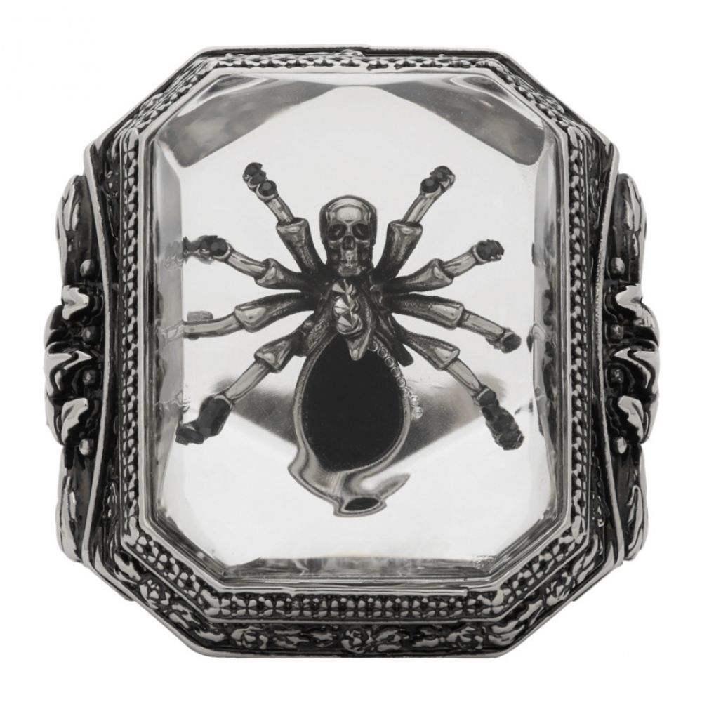 アレキサンダー マックイーン Alexander McQueen メンズ 指輪・リング ジュエリー・アクセサリー【Silver Spider Ring】Silver