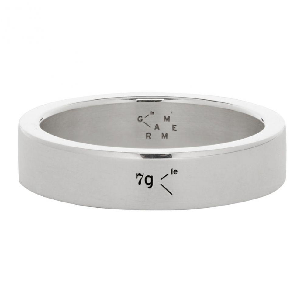 ルグラム Le Gramme メンズ 指輪・リング ジュエリー・アクセサリー【Silver Polished 'Le 7 Grammes' Ribbon Ring】Silver