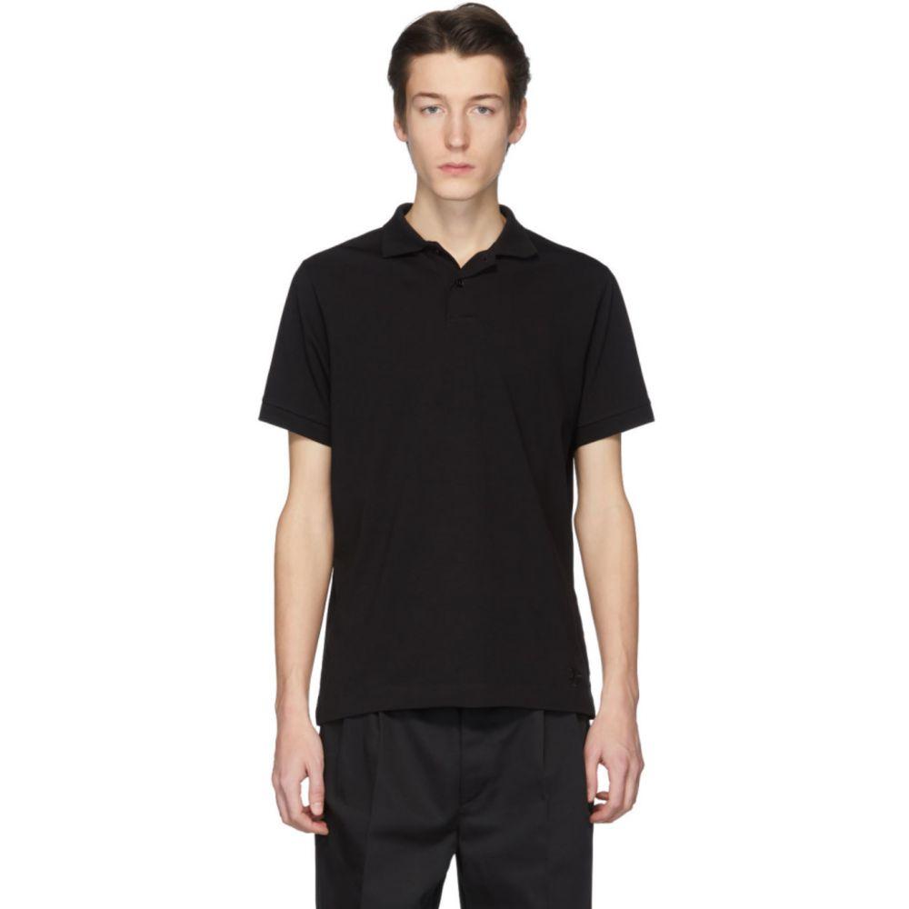 ジル サンダー Jil Sander+ メンズ ポロシャツ トップス【Black Jersey Polo】Black