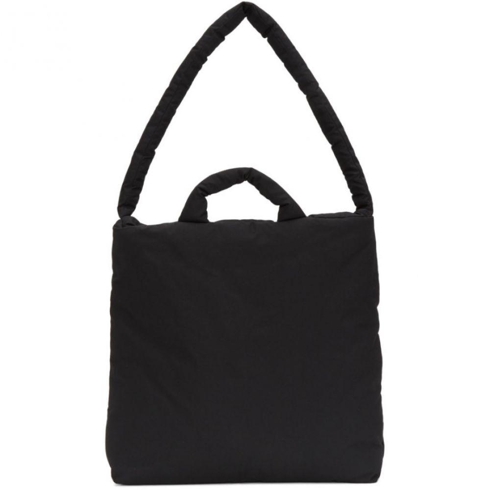 カッスル エディションズ Kassl Editions メンズ トートバッグ キャンバストート バッグ【Black Medium Tec Canvas Tote】Black