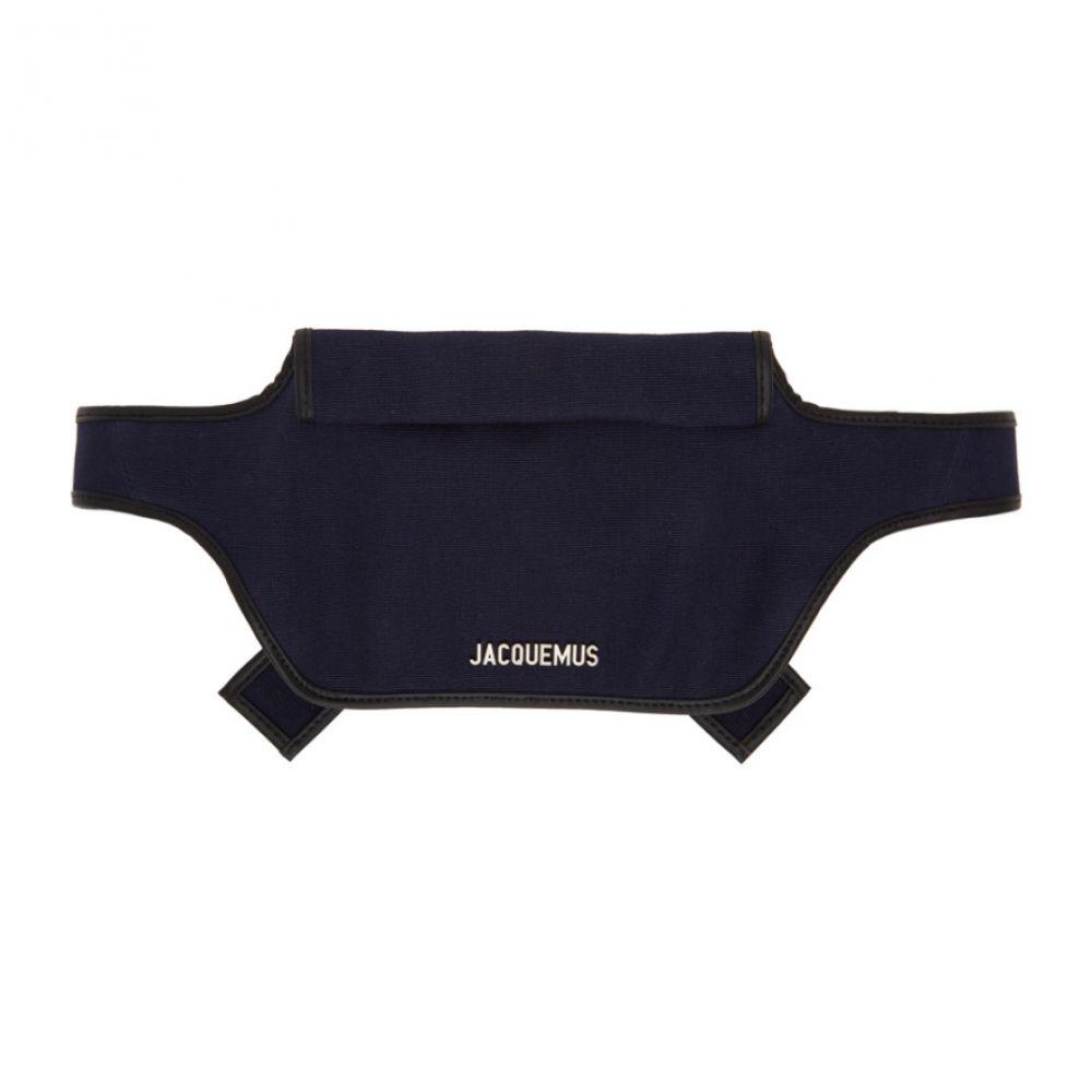 ジャックムス Jacquemus メンズ ボディバッグ・ウエストポーチ バッグ【Navy 'Le Banane' Belt Bag】Navy