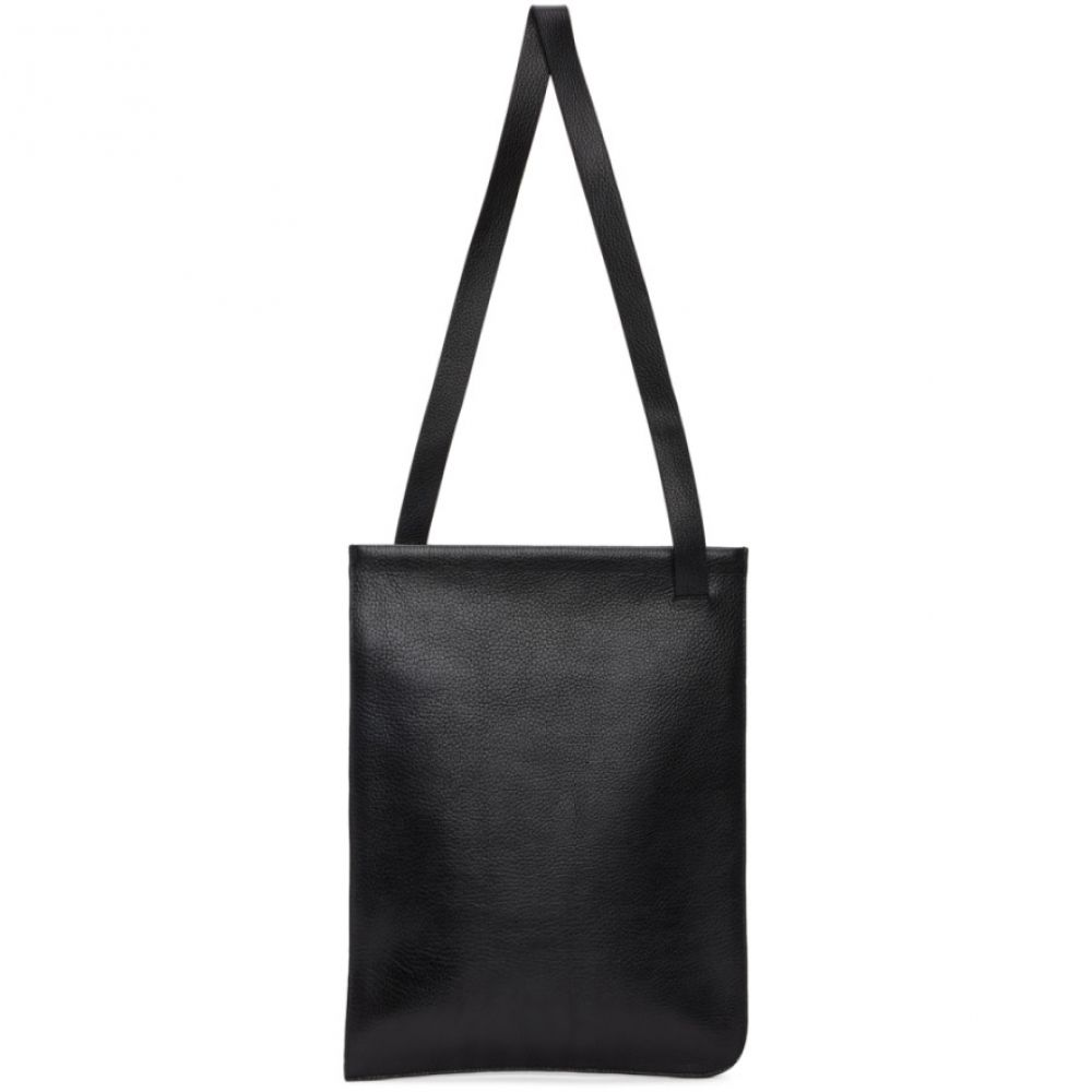 ルメール Lemaire メンズ トートバッグ バッグ【Black Leather Tote】Black