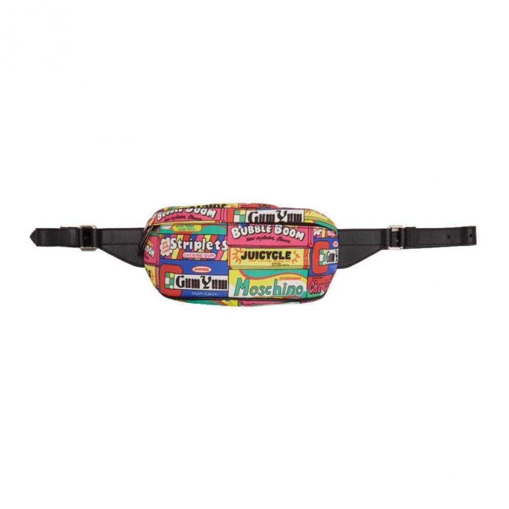 モスキーノ Moschino メンズ ボディバッグ・ウエストポーチ バッグ【Multicolor Chewingum Waist Bag】Multicolor