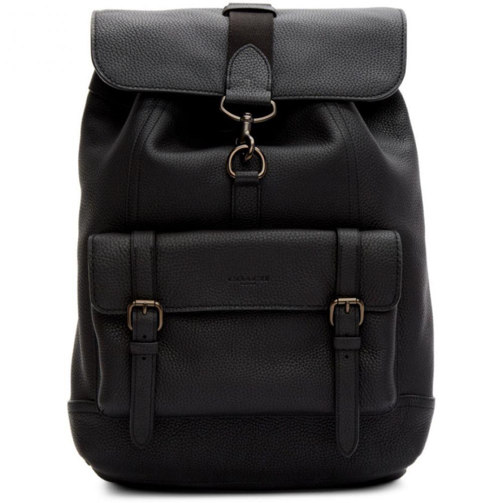 コーチ Coach 1941 メンズ バックパック・リュック バッグ【Black Bleecker Backpack】Black